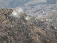 大涌谷の噴煙