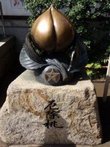 晴明神社の桃