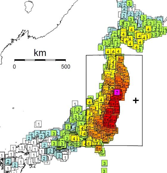 南海トラフ巨大地震では九州から東京まで震度7くらい揺れるのだろうか?