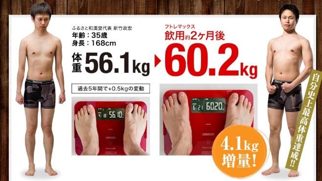 太るサプリ・フトレマックス
