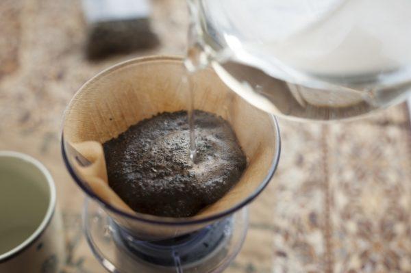コーヒー豆の淹れかた