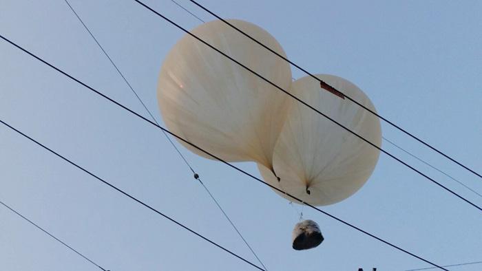 韓国製気球